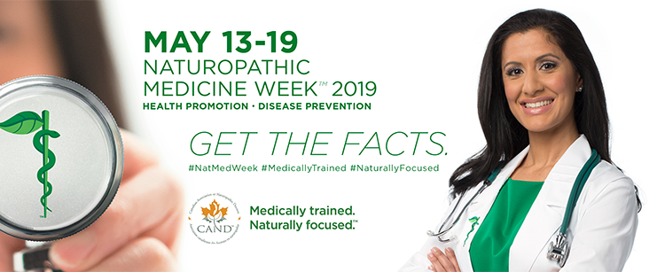 Naturopathic Medicine Week – May 13th – 19th