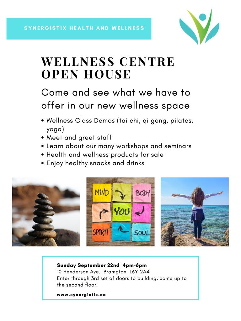 wellness centre open house