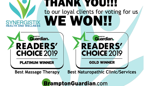 THANK YOU ALL!! 2019 Brampton Guardian Readers' Choice Winner!